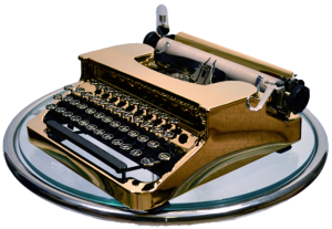 gold-typewriter